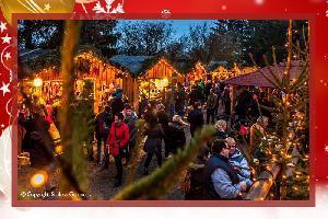 Romantischer Weihnachtsmarkt Schloss Guteneck